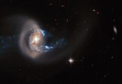 Hubble image of NGC 7714