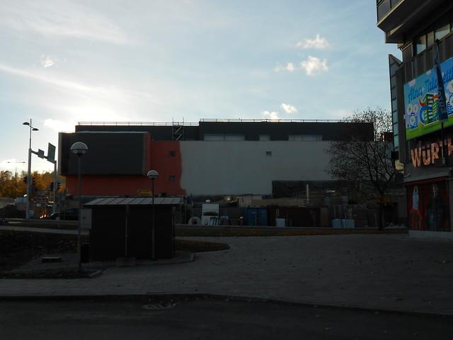 Hämeenlinnan moottoritiekate ja Goodman-kauppakeskus: Työmaatilanne 13.10.2013 - kuva 16