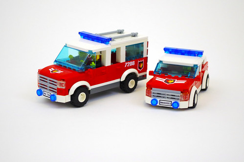 Fire Department Car & SUV