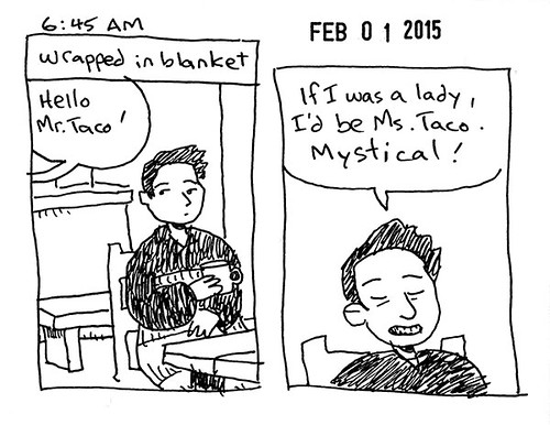 Hourly Comic Day 2015 645am