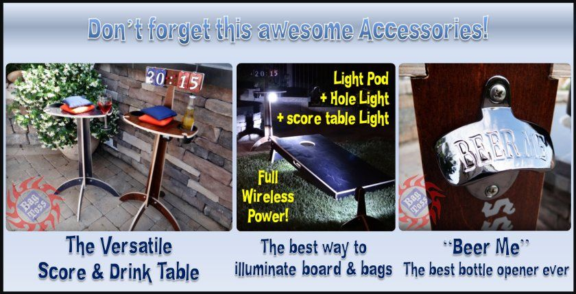 Don't forget this awesome accessories