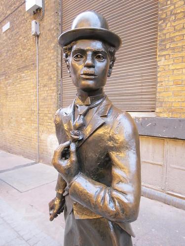 Charlie Chaplin, London