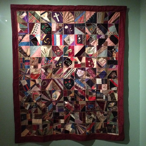 Crazy Quilt, maker unknown, c. 1884