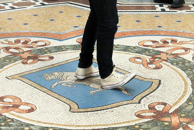Galleria Vittorio Emanuele II.