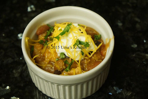 Chipotle chicken chili 1