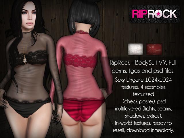 RipRock - BodySuit V9  POSTER