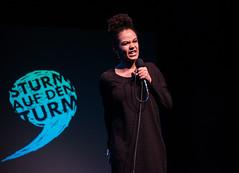 Fatima Moumouni - Poetry Slam - Wien - Sturm auf den Turm Slam