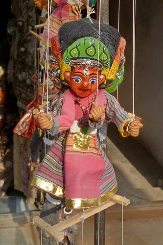 Nepal - Kathmandu - Puppet On A String - 23