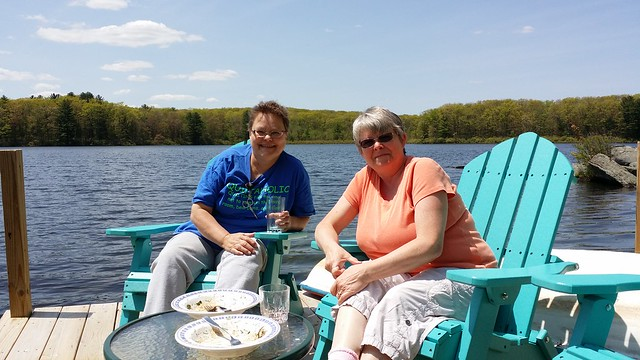 Lunch on the dock