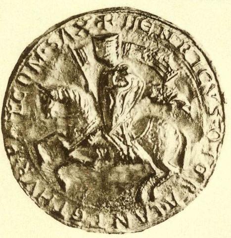 Seal of Henry Raspe as king