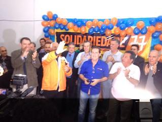 Encontro do Solidariedade em Jacutinga (MG) lança pré-candidatos