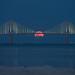 Skyway Bridge Moonrise by James Boone
