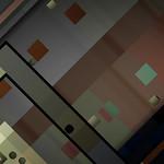 Aaron Higgins - TMFRM; Interactive video with webcam; 2012; 47.5 x 28.25