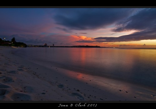 ocean longexposure sunset beach reflections outdoors island nikon exposure dusk sunsets clark guam d300 jamesclark islandsunsets nikond300 mygearandme musictomyeyeslevel1