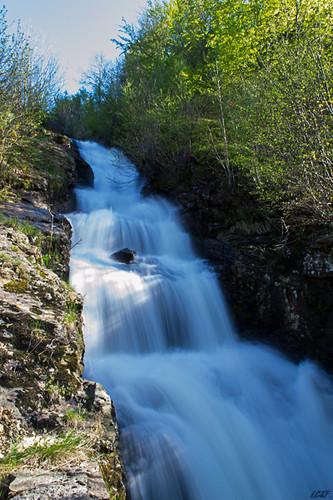 Cascade du barrage de Cotatay