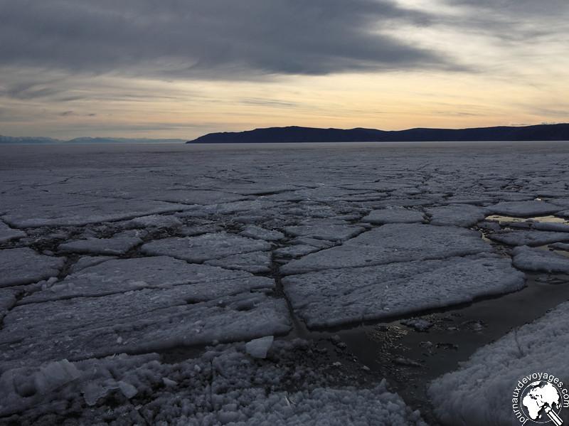 Glace du Lac Baïkal