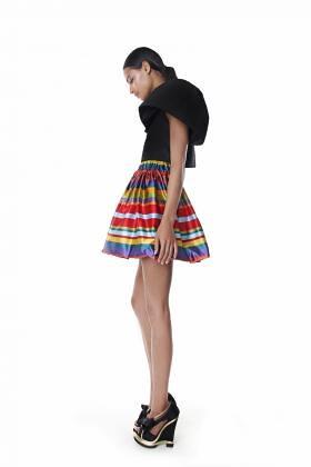 Gail Sorronda Cresendo crop top beach house skirt