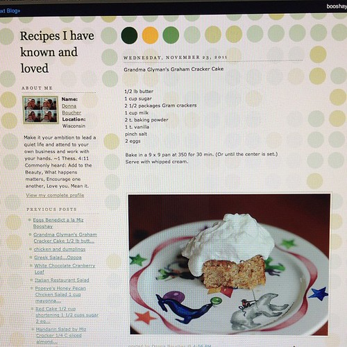 Www.mizbooshay.blogspot.com.   My humble recipe blog.