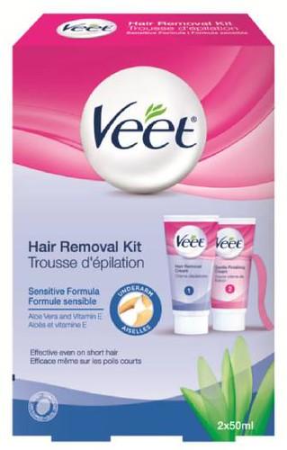 Veet under arm hair removal kit