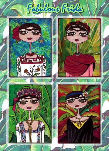 Fabulous Frida Challenge by flowerlily1