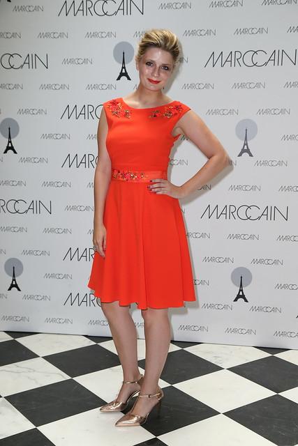 Mischa Barton (Kleid: Marc Cain)