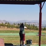 Aoife Gormally shooting Trap