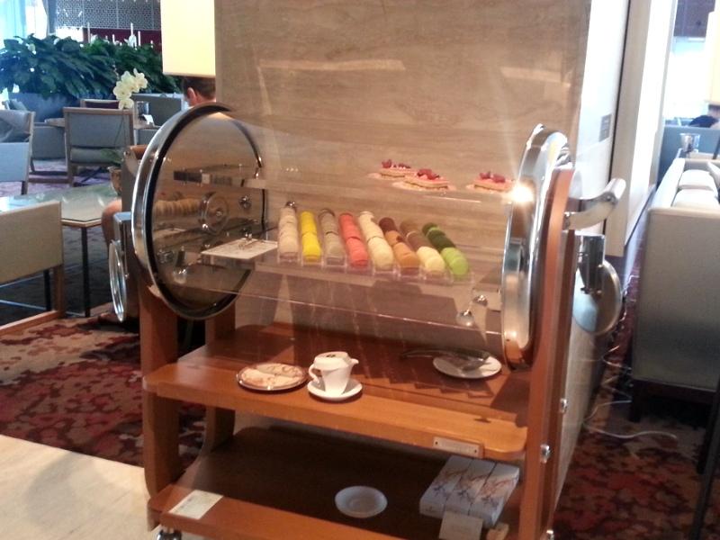 Shangri-La desserts cart