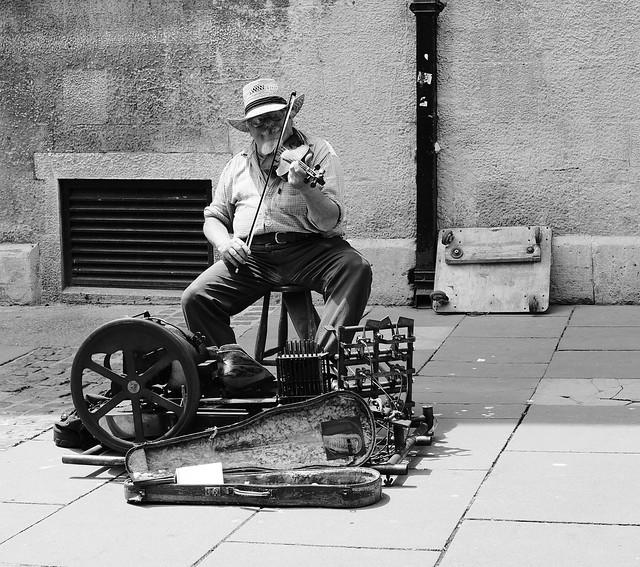 Bath - Street Performer