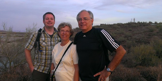 Chris, Mom, Dad