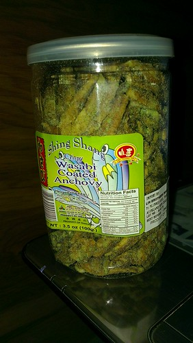 2012-06-19 - Chinese Supermarket - Shing Shang Crispy Wasabi Coated Anchovy