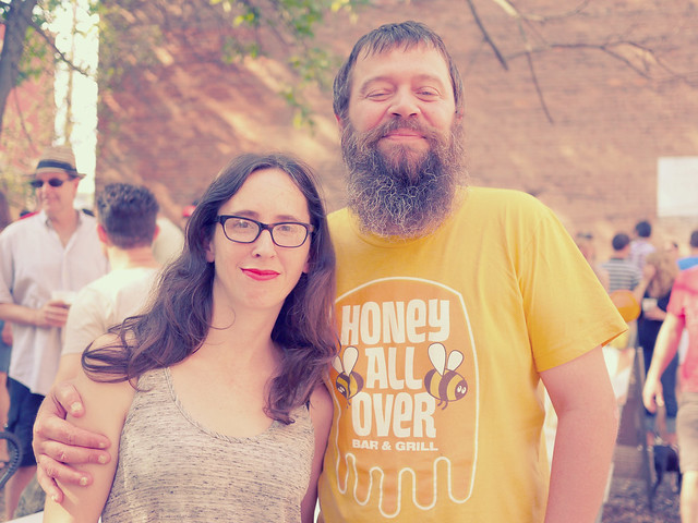 August Five Points Alley Biergarten featuring MadTree