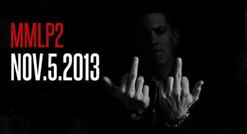 Eminem MMLP2 NOV 5 2013