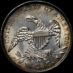 Newman 1833 B-1 Quarter reverse