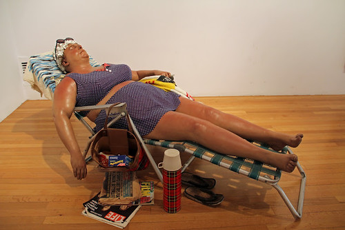 Duane Hanson, Sunbather, 1971