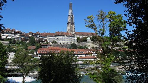 Bern mit verpacktem Münster