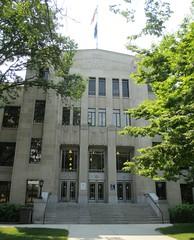 Jackson County Courthouse Detail (Medford, Oregon)