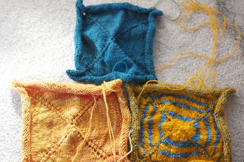 Barn Raising Quilt squares