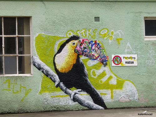 Martin Whatson at Nuart 2013