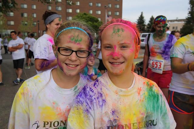 2013 Foundation Pioneer Color Run