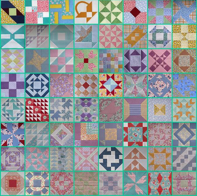 FWQAL 64 Block Mosaic