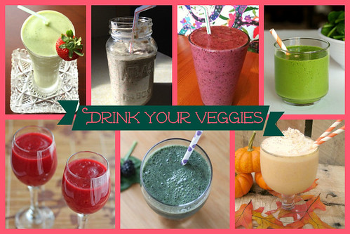 Drink Your Veggies Smoothie Recipes | cupcakesandkalechips.com | #smoothies #smoothie #smoothierecipes