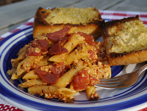 Z if for Ziti All'amatriciana [Betty Goes Vegan] (0005)