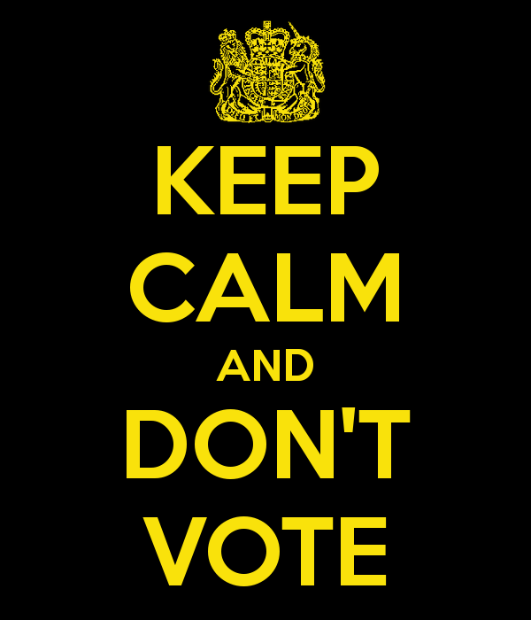 keep-calm-and-don-t-vote