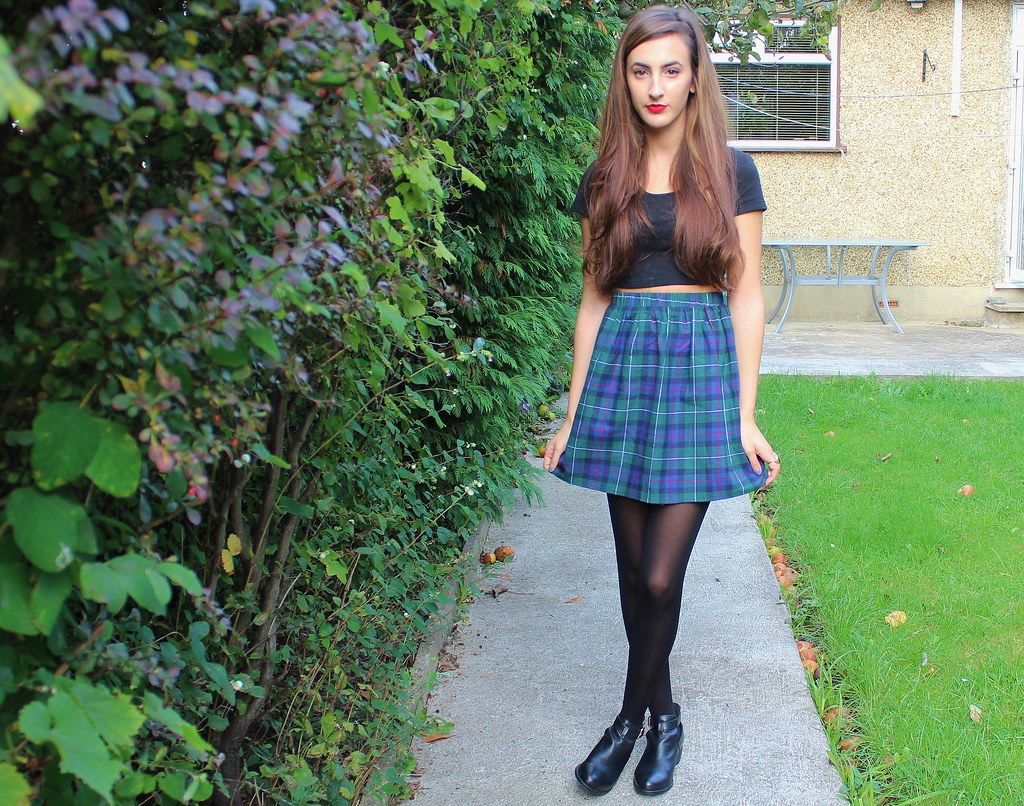 TARAN SKIRT MISSGUIDED TARTAN LEA SKIRT
