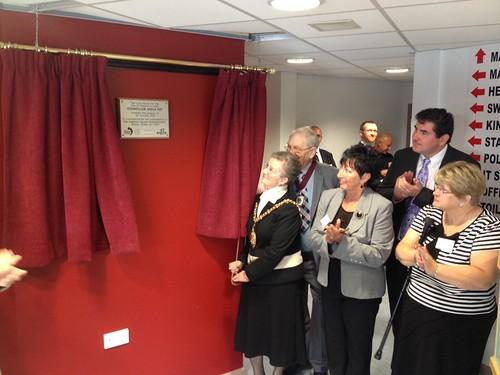 Blurton Hub opening