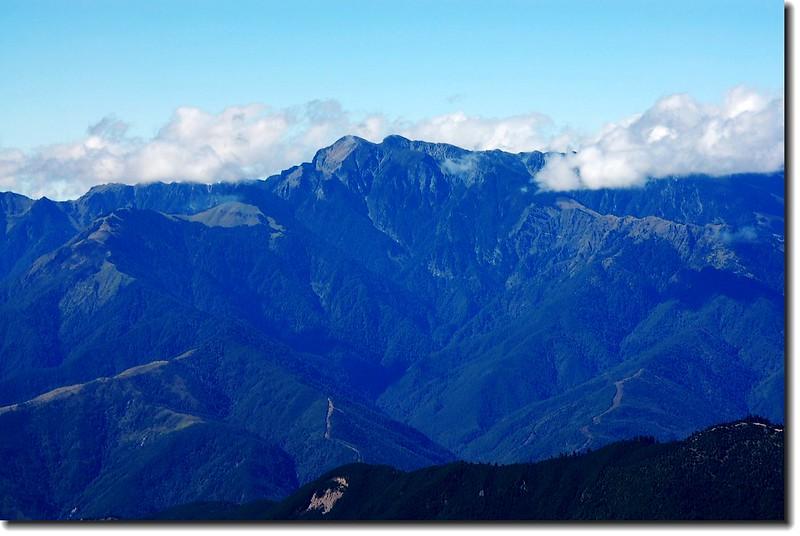 雪山(From 中央尖山山頂)