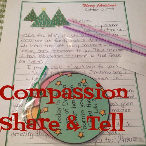Compassion Share & Tell