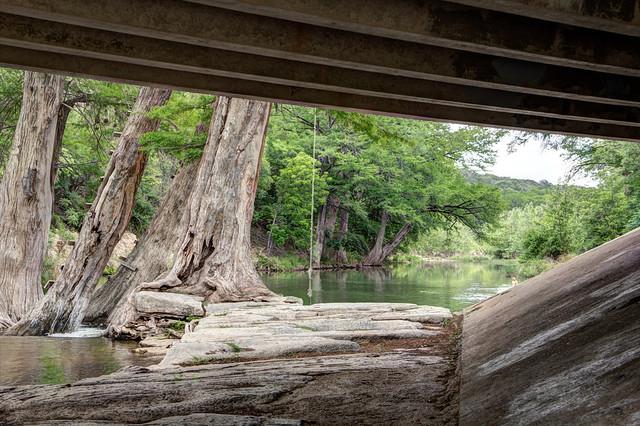 Hunt Crossing Under Bridge