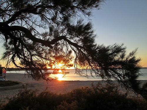 sunset beach sundown oz australia wa westernaustralia eveninglight gloaming kalbarri murchisonriver
