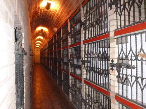 Lugar de almacenaje de vino de los socios